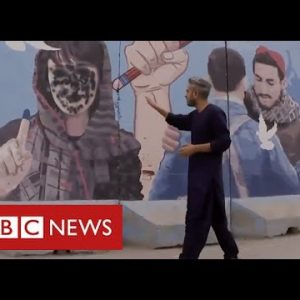 Images of Afghan women erased from view as Taliban consolidate power - BBC News